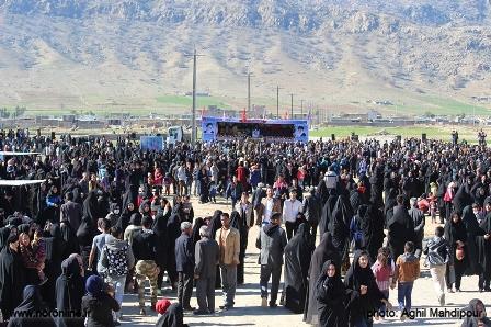 تدفین شهید قاجاری