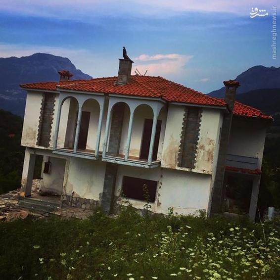 روستایی عجیب در یونان+تصاویر