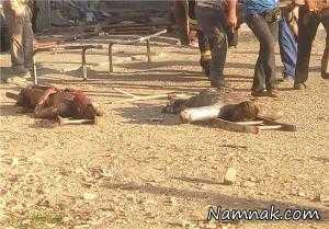 عکس های دلخراش از انفجار بمب دست ساز در اسلامشهر 16+