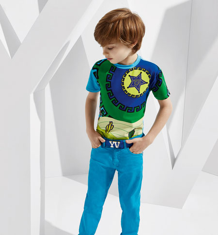 مدل لباس کودکانه ورساچه برای بهار