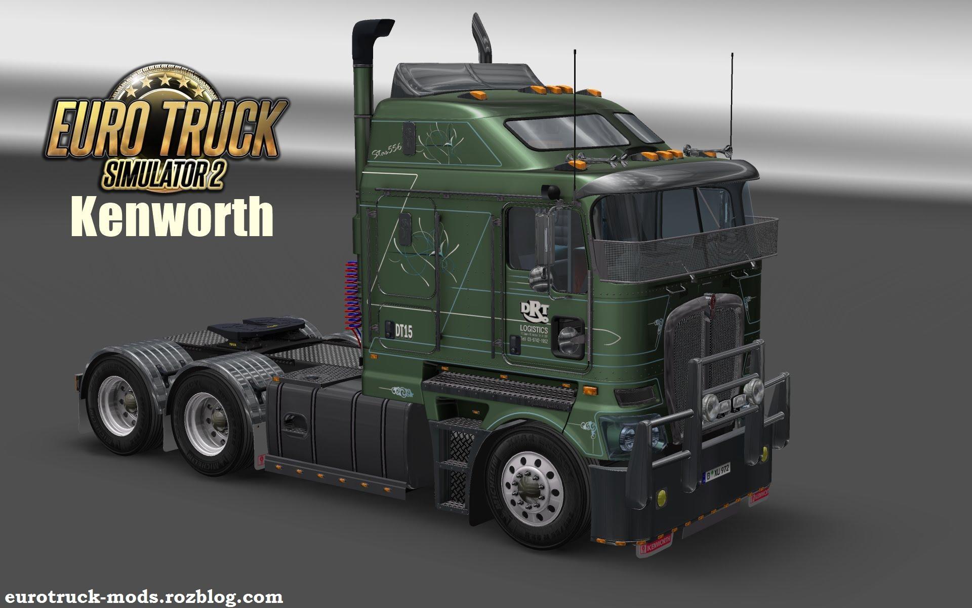 دانلود کامیون فوق العاده kenworth k200 برای یورو تراک