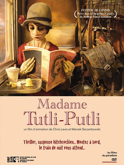 دانلود انیمیشن مادام توتلی پوتلی Madame Tutli-Putli 2007