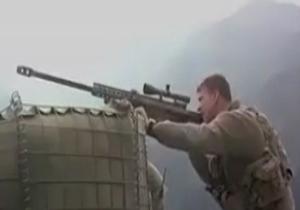 شکار ماهرانه 12 تروریست توسط تک تیرانداز +فیلم