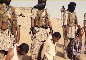 سر بریدن هولناک چهار زندانی به دست عناصر داعش