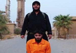 ذبح جوان عراقی توسط داعش (فیلم+۱۸)
