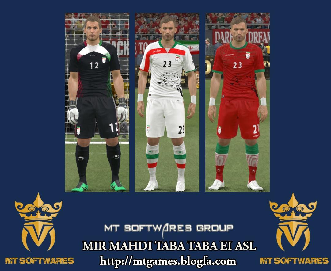 کیت 94-95 تیم ملی ایرانبا نقش یوزپلنگ