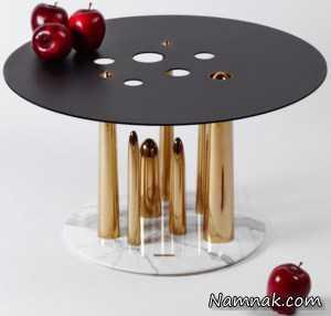 یک میز عسلی خیلی متفاوت + تصاویر