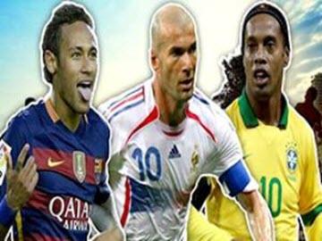 دانلود کلیپ دیدنی از 10 بازیکن خوش تیکنیک تاریخ فوتبال