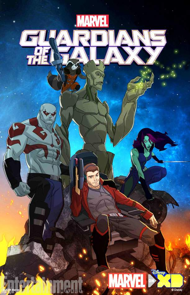 فصل 1 انیمیشن نگهبانان کهکشان Guardians of the