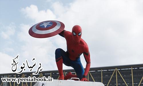 """مرد عنکبوتی نیز به """"Captain America: Civil War"""" پیوست"""