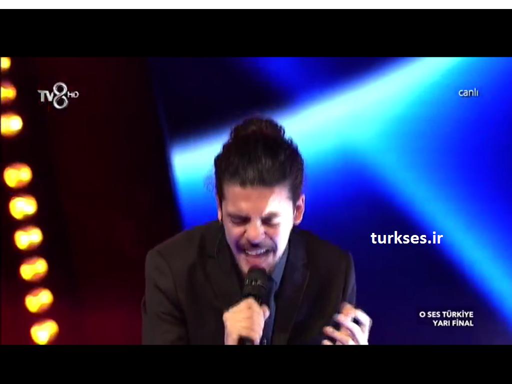 کلیپ از مسابقه o ses turkiye ( اوسس ترکیه ) آهنگ ask nerden nereye