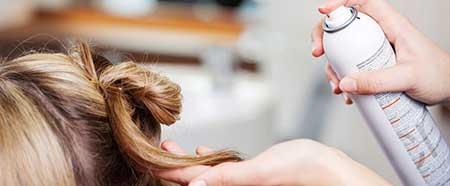 آیا اسپری مو باعث ریزش مو می شود؟