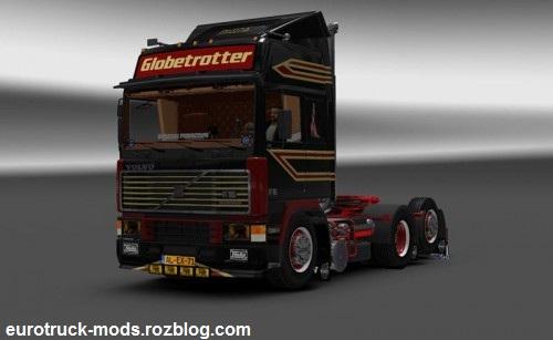 دانلود کامیون فوق العاده volvo f16 ورژن دوم برای یورو تراک