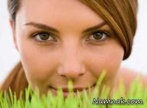 غذای زیبایی بدون آرایش خانم ها