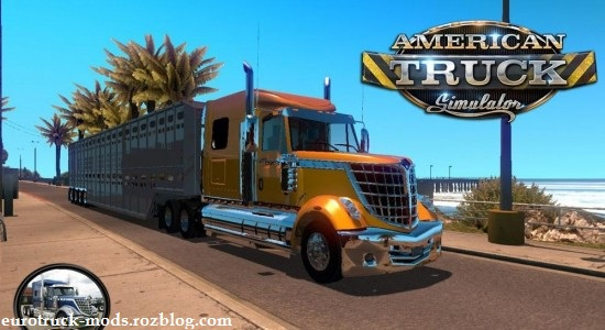 دانلود کامیون زیبای اینترنشال برای american truck simulator