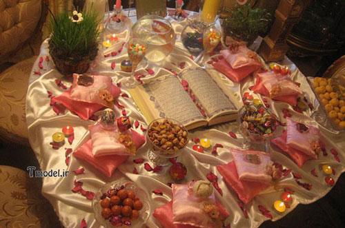 تزئین سفره هفت سین عید 95