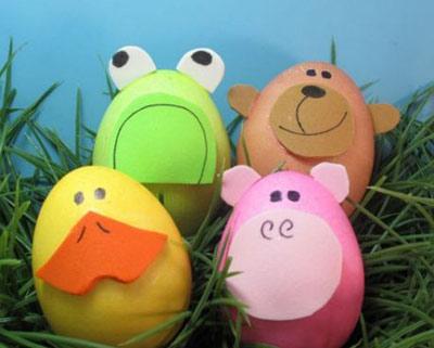 ایده های زیبا برای تزیین تخم مرغ سفره هفت سین عید نوروز ۹۵