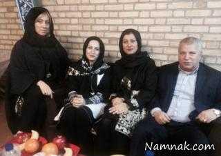 علی پروین و دخترانش در دورهمی مهران مدیری