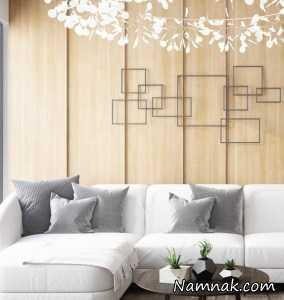 دیوارپوش های چوبی آپارتمانی لوکس و مدرن + تصاویر کامل