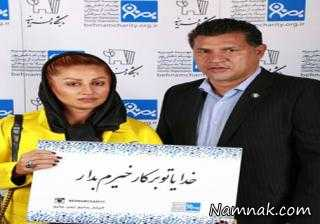 علی دایی و همسرش در کنار تهمینه میلانی + عکس