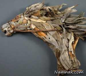 تکه چوب هایی که مجسمه های زیبا شدند