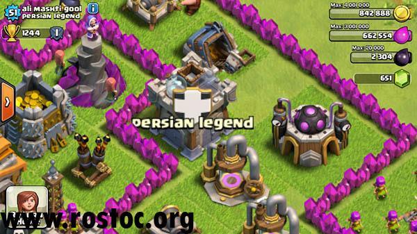 نکاتی در مورد سربازان Clan Castle دشمن