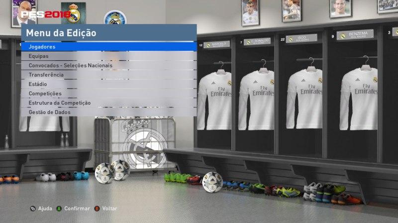 دانلود بک گراند اتاق ادیت رئال مادرید
