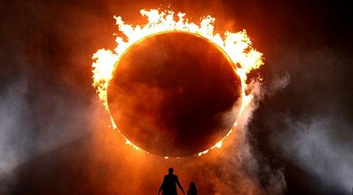 آتش بازی بزرگ ناسا در فضا / تجربه آتش گرفتن در بی وزنی