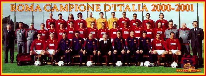 ترکیب کلاسیک تیم آث رم ایتالیا فصل0200 تا 2002