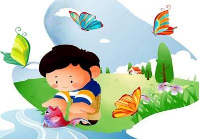 شعر کودکانه شبیه رودخانه