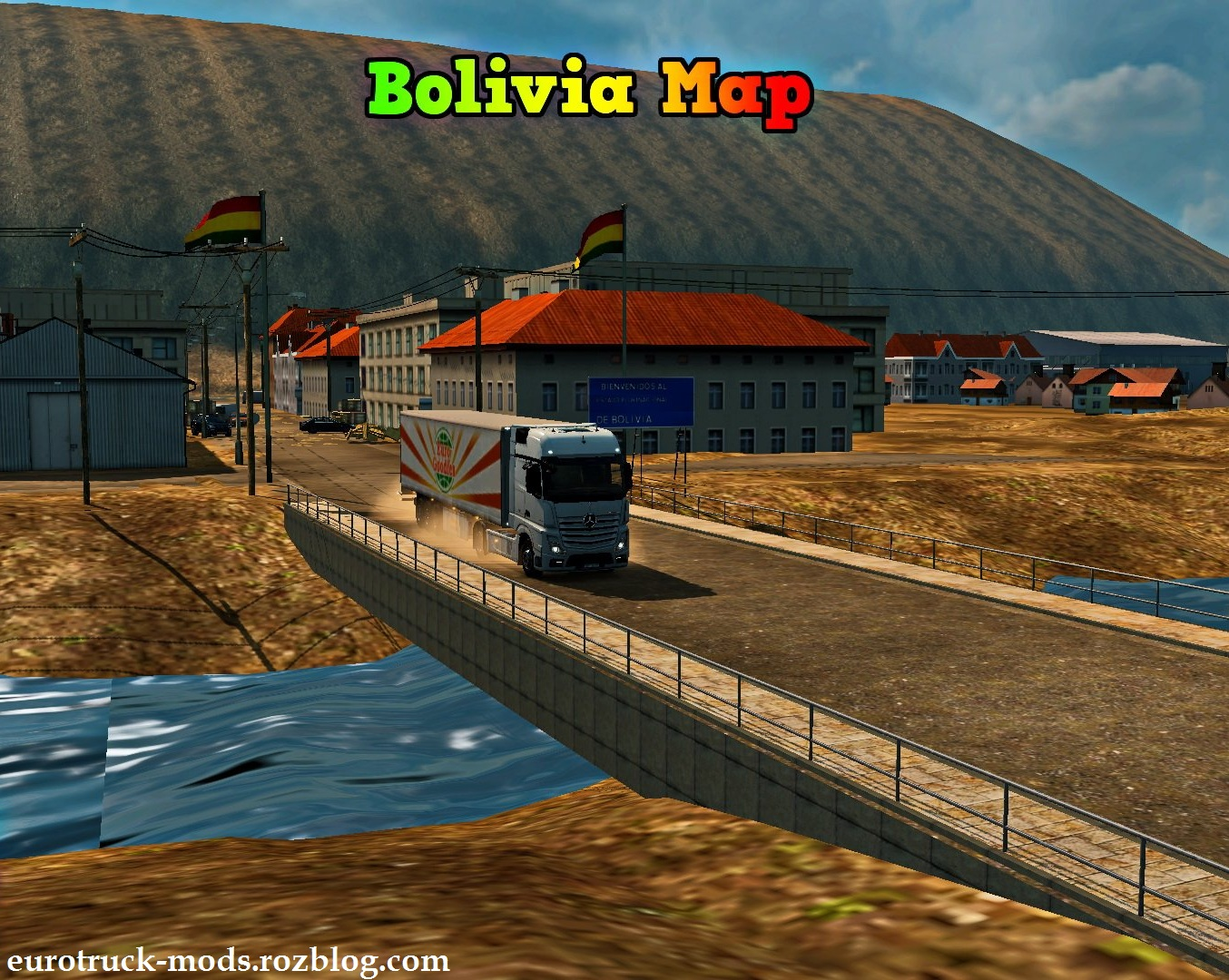 دانلود مپ فوق العاده bolivia ورژن 3.3 برای یورو تراک