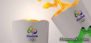 مشعل المپیک 2016 به اندازه ی یک قاره!
