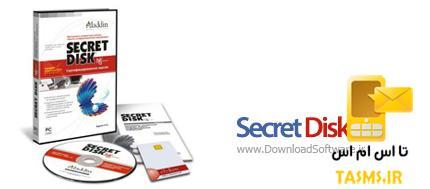 Secret Disk 3.04 درایو شخصی در ویندوز
