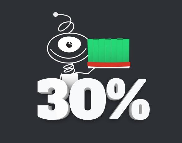 تخفیف 30 درصدی سفارشات اقدام پژوهی(نرم افزار و بدون نرم افزار)