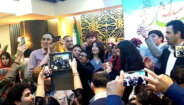 نوروز ۹۴ با حضور یانگوم در سفارت ایران در کره جنوبی