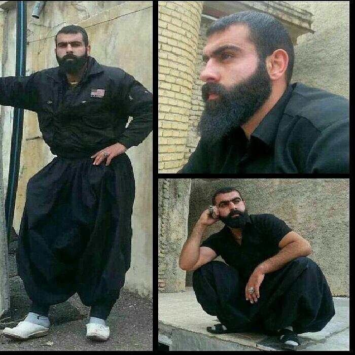 عکس خالکوبی لات های ایران