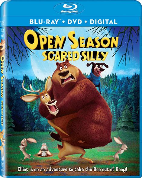 دانلود دوبله فارسی انیمیشن Open Season: Scared Silly 2015