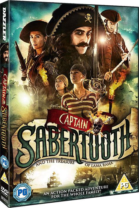 دانلود دوبله فارسی فیلم Captain Sabertooth 2014