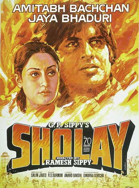 دانلود فیلم هندی شعله با دوبله فارسی Sholay 1975