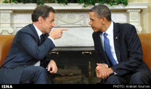 عصبانیت سارکوزی از اوباما