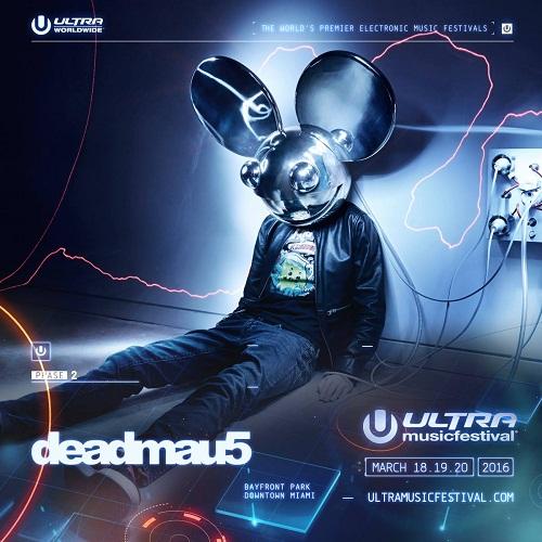 Deadmua5 - Ultra Music Festival 2016