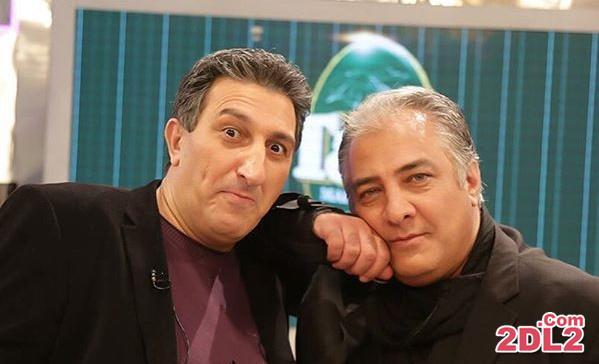 عکس جدید منتشر شده از ایرج نوذری در یک برنامه تلویزیونی