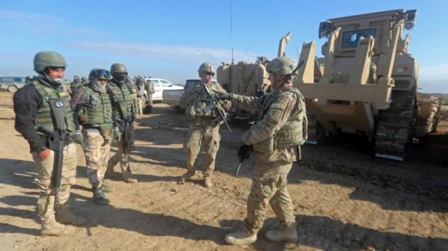 ایجاد اولین پایگاه ارتش آمریکا در عراق