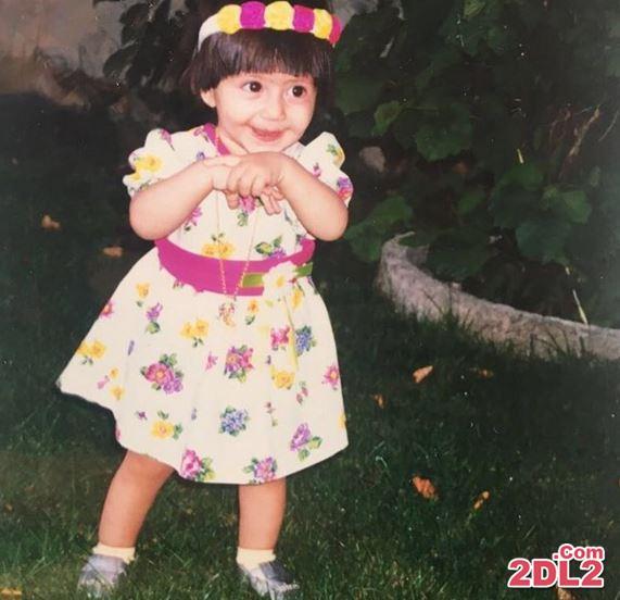 عکس یک سالگی دختر بهاره رهنما
