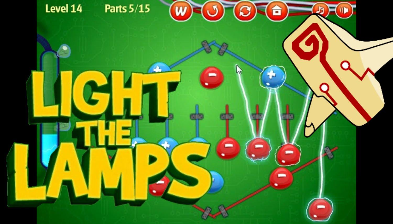بازی آنلاین فکری روشن کردن لامپ