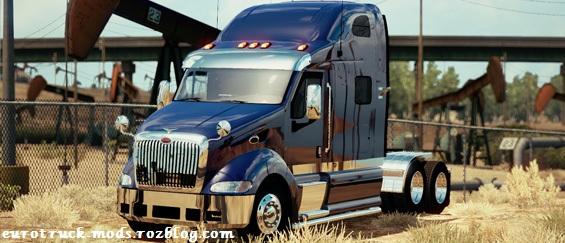 دانلود کامیون فوق العاده peterbilt 387 برای امریکن تراک