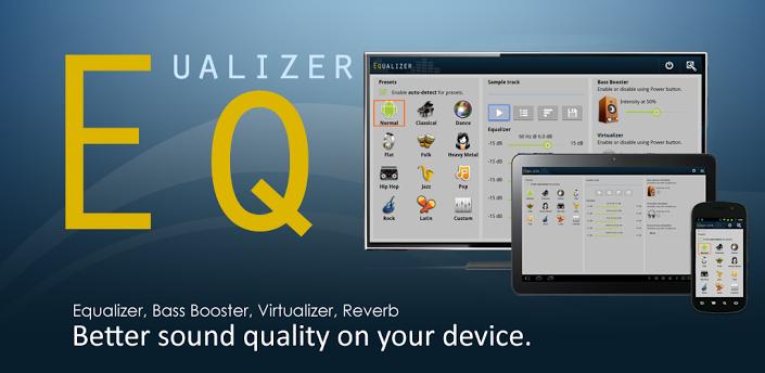 دانلود نرم افزار افزایش صدای گوشی Equalizer FULL