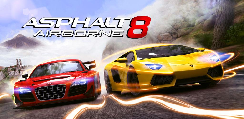 دانلود بازی آسفالت هشت ورژن 2.3 Asphalt 8: Airborne