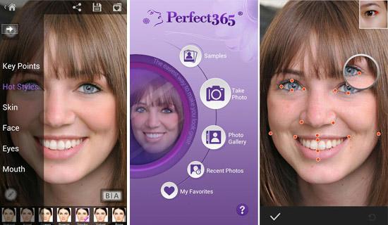 دانلود Perfect365: One-Tap Makeover 5.17.10 – برنامه فوق العاده روتوش چهره اندروید