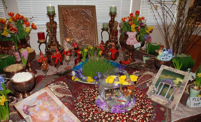 نوروز ایرانی با پیشینه ای ناپیدا بر شما خجسته باد